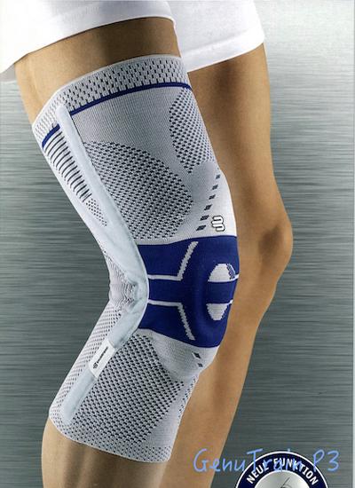 Bauerfeind GenuTrain 德國包爾泛 (P3型護膝)黑藍色