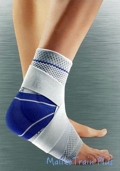 Bauerfeind MalleoTrain Plus 德國包爾泛(全面型護踝)灰藍色