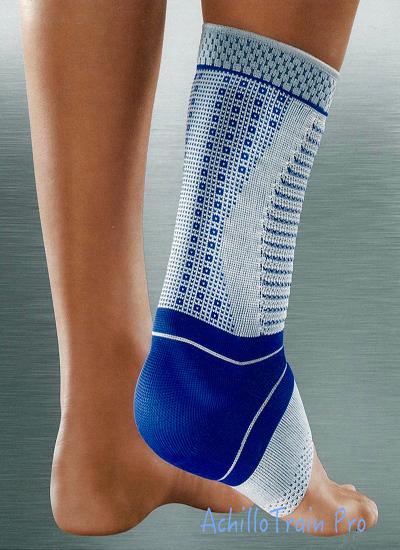 Bauerfeind AchilloTrain Pro 德國包爾泛( 加強型護踝)黑藍色